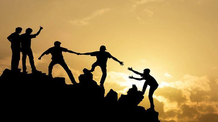 صورة تعبير عن التعاون , فضل التعاون بين الناس