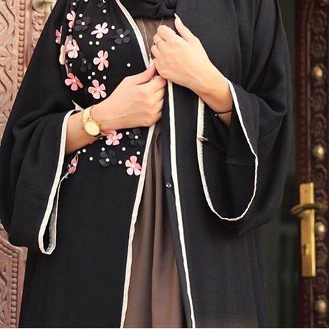 صورة عبايات كويتية , فصالات كويتية حديثة