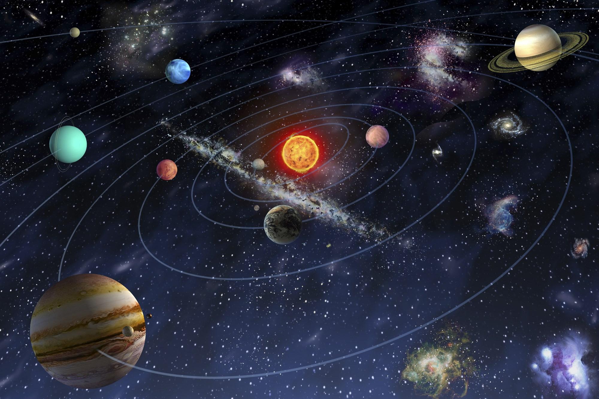 صورة صور المجموعة الشمسية , اجمل صور طبيعيه للمجموعه الشمسيه