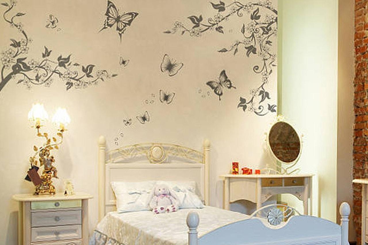 صورة ورق جدران غرف نوم , اجمل ورق حائط فى غرف النوم 1948 4