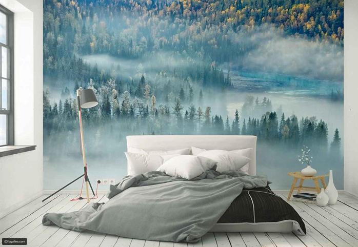 صورة ورق جدران غرف نوم , اجمل ورق حائط فى غرف النوم 1948 9