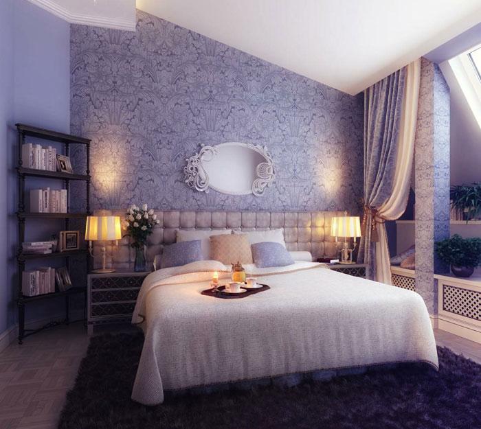 صورة ورق جدران غرف نوم , اجمل ورق حائط فى غرف النوم