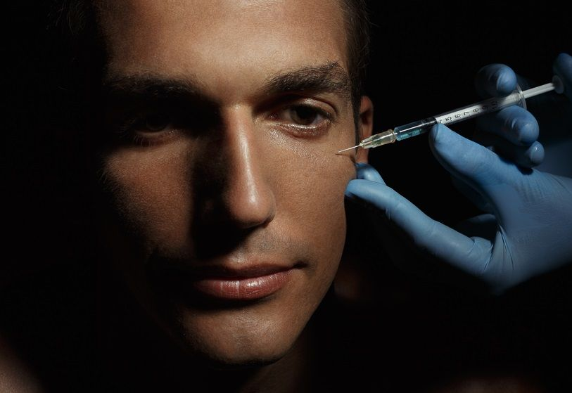صورة علاج نحافة الوجه عند الرجال , طريقة لعلاج نحافة الوجه 2292 1