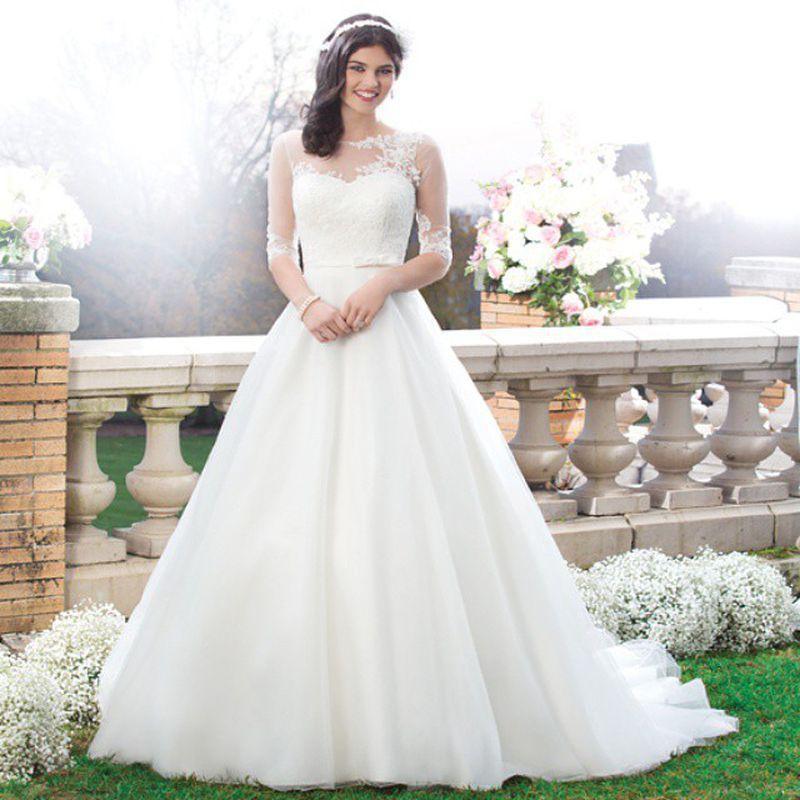 صورة احدث فساتين الزفاف , اجمل فستان زفاف لعام 2019
