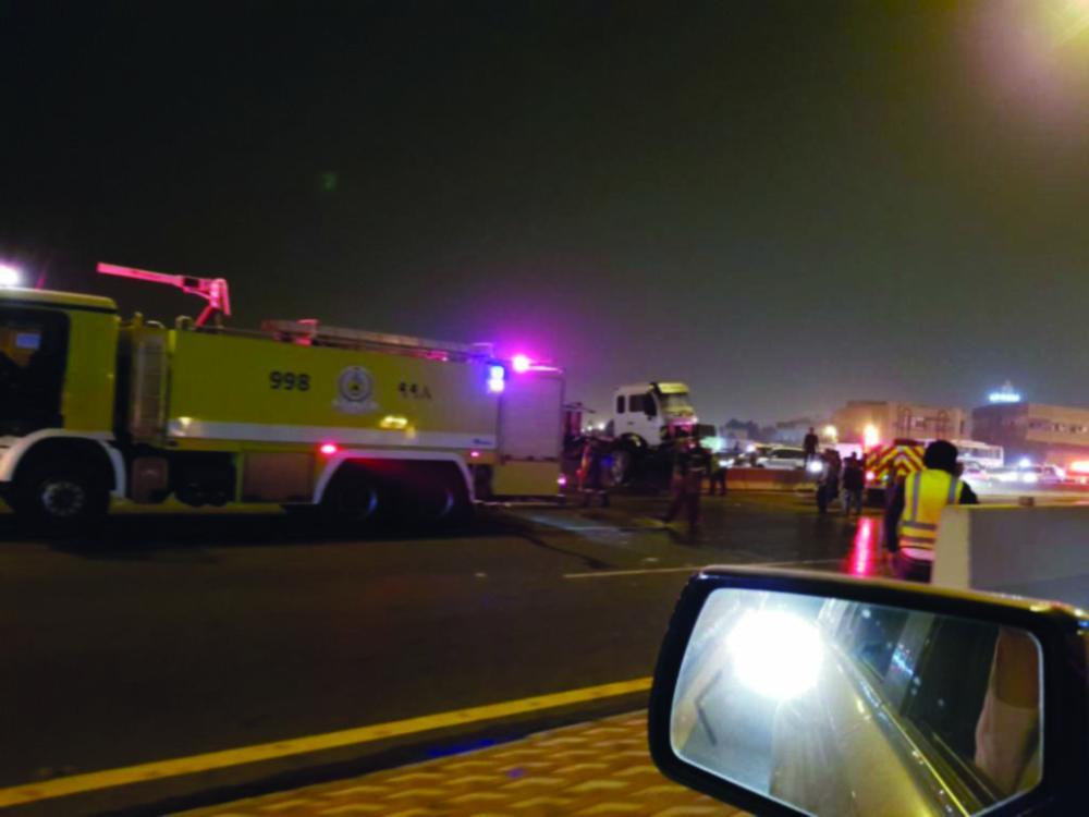 بالصور مصور حادث المدينة , صور للحوادث في المدينة المنورة 2486 5