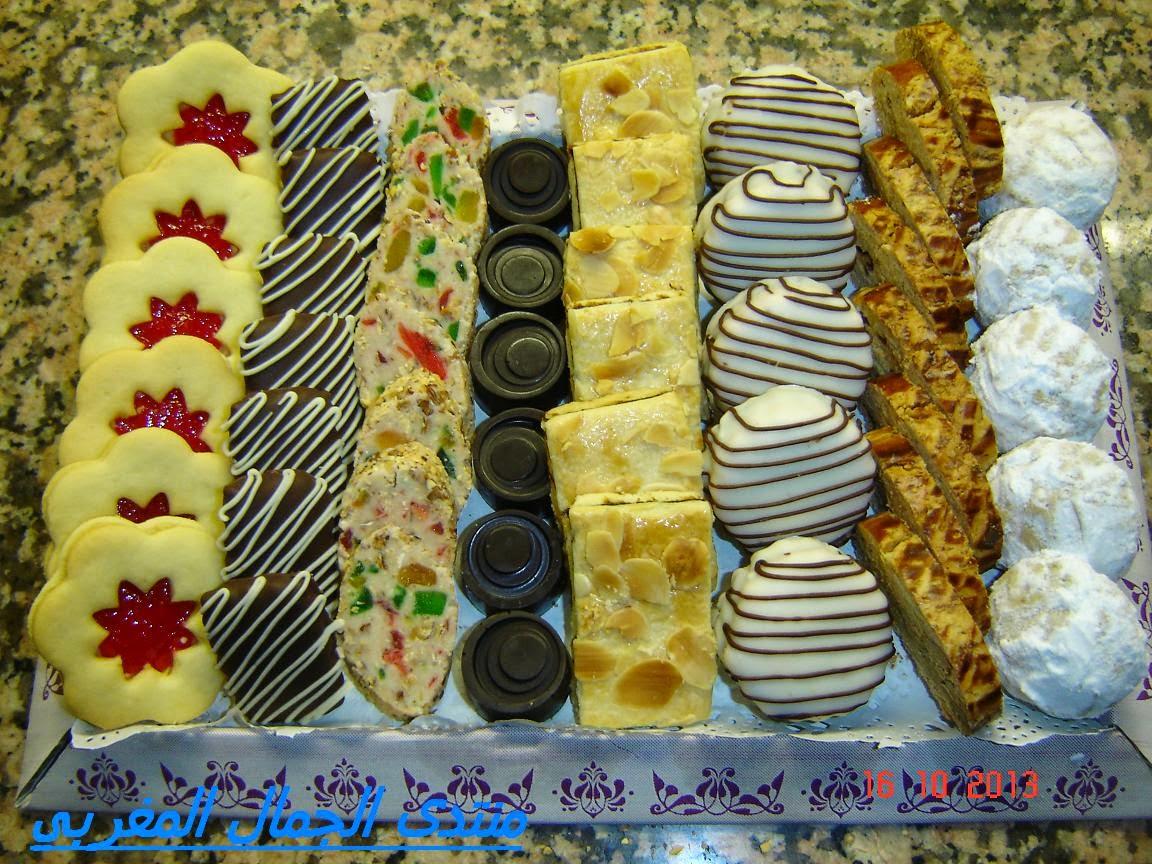 بالصور الحلويات المغربية بالصور والمقادير , اجمل الحلويات المغربية 2541 2