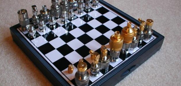 صورة كيفية لعب الشطرنج , طريقة للعب الشطرنج