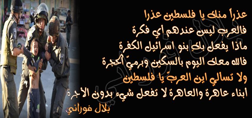 بالصور شعر عن فلسطين , اجمل الكلمات عن فلسطين 2603 6