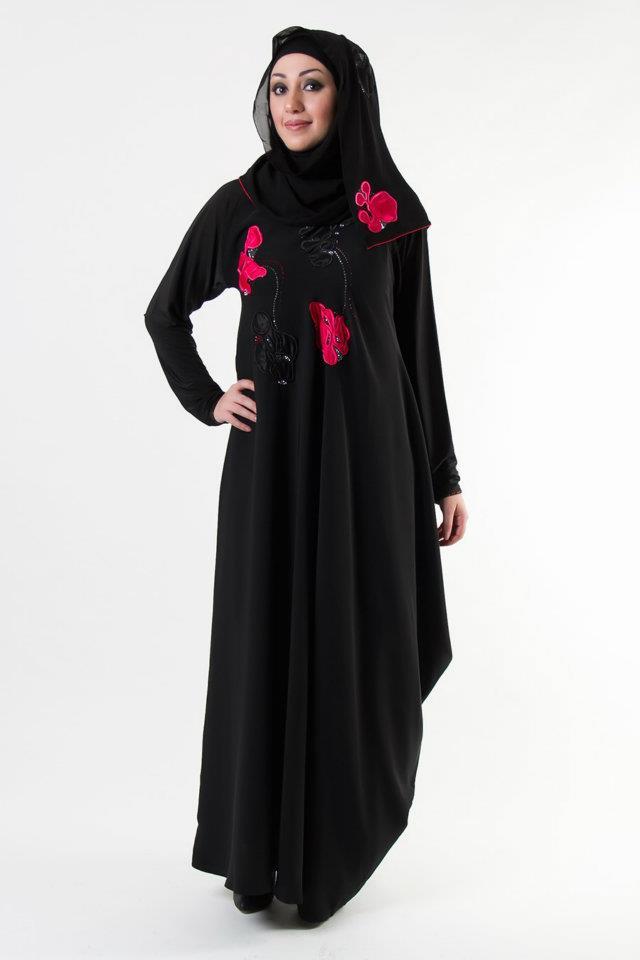 بالصور عبايات مصرية , اجمل ثياب حشمه مطرزه 2863 10