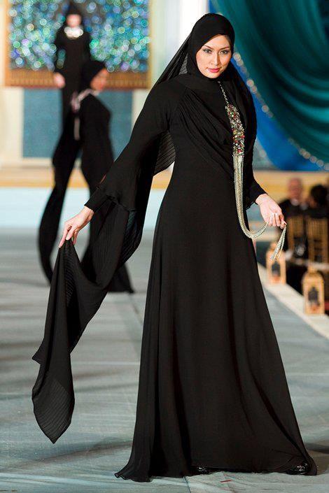 بالصور عبايات مصرية , اجمل ثياب حشمه مطرزه 2863 4