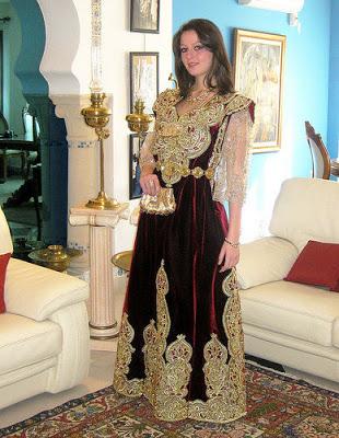 بالصور خياطة قنادر , ملابس على الطراز العربي 2877 3