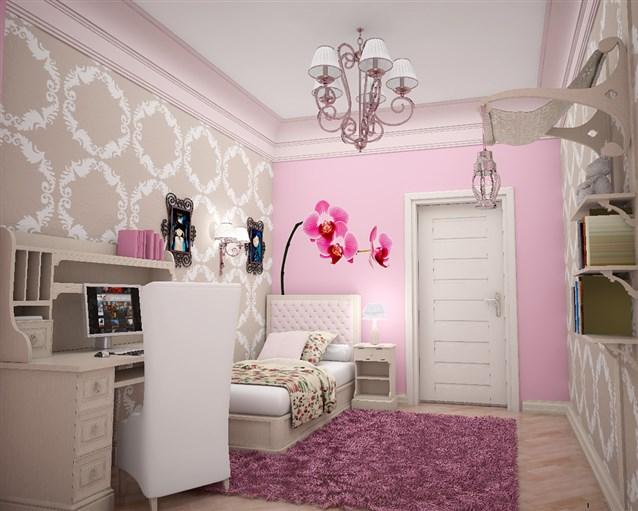 بالصور صور غرف بنات , ديكور اوض فتيات 2985 2