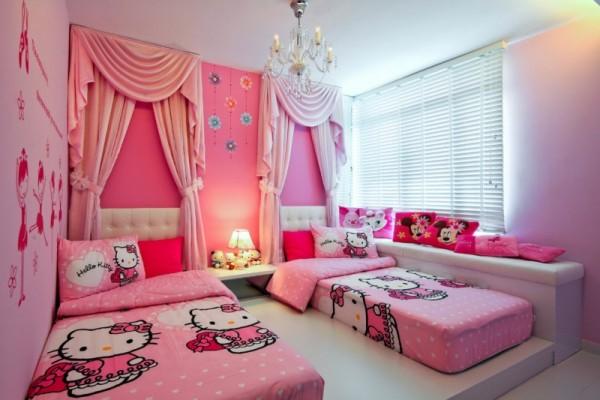 بالصور صور غرف بنات , ديكور اوض فتيات 2985 5