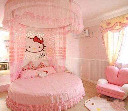 بالصور صور غرف بنات , ديكور اوض فتيات 2985 7