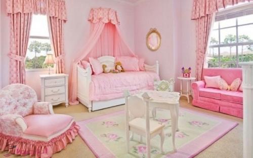 بالصور صور غرف بنات , ديكور اوض فتيات 2985 9