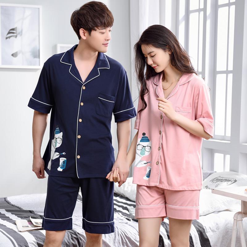 بالصور بيجامات صيفية , موديلات ملابس النوم للرجل والمراه 3003 11