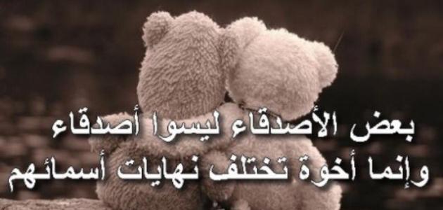 بالصور كلام عن الصديق الحقيقي , حكم عن الصداقه الوفيه 3087 4