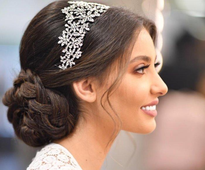 بالصور احلى تسريحه عروس , اجمل واحدث فورمة شعر للعروسه 3122 1