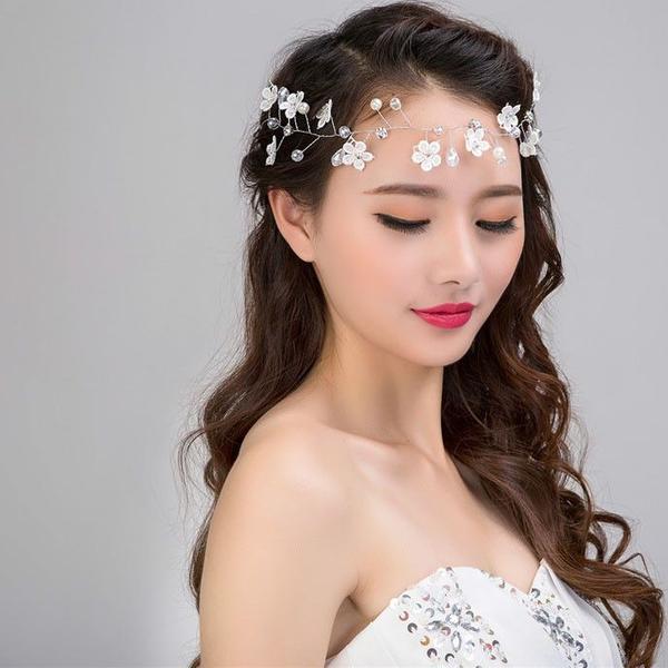 بالصور احلى تسريحه عروس , اجمل واحدث فورمة شعر للعروسه 3122 14