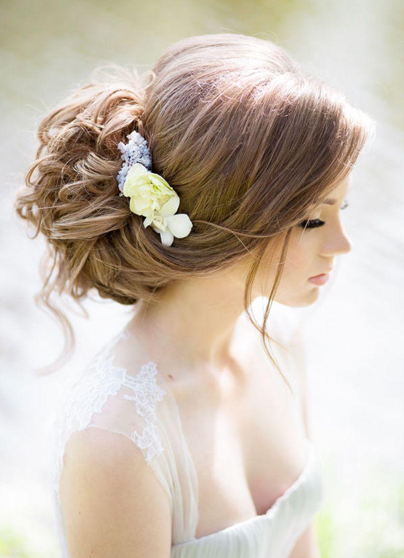 بالصور احلى تسريحه عروس , اجمل واحدث فورمة شعر للعروسه 3122 5