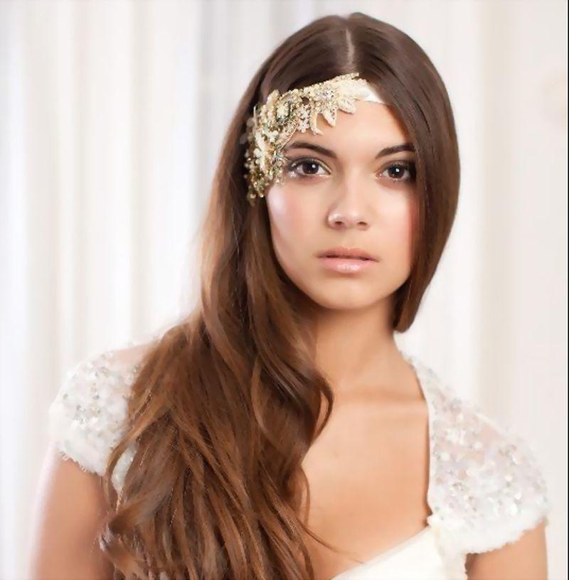 بالصور احلى تسريحه عروس , اجمل واحدث فورمة شعر للعروسه 3122 7