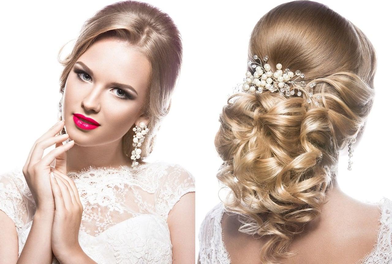 بالصور احلى تسريحه عروس , اجمل واحدث فورمة شعر للعروسه 3122 8