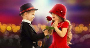 صوره اصغر حبيبين , اجمل صور كابلز رومانسي اطفال
