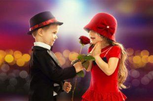صور اصغر حبيبين , اجمل صور كابلز رومانسي اطفال