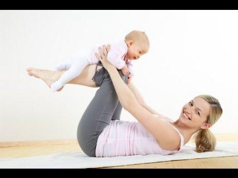 صورة تمارين شد البطن بعد الولادة , اريد برنامج رياضي لترهل المعده بعد الانجاب
