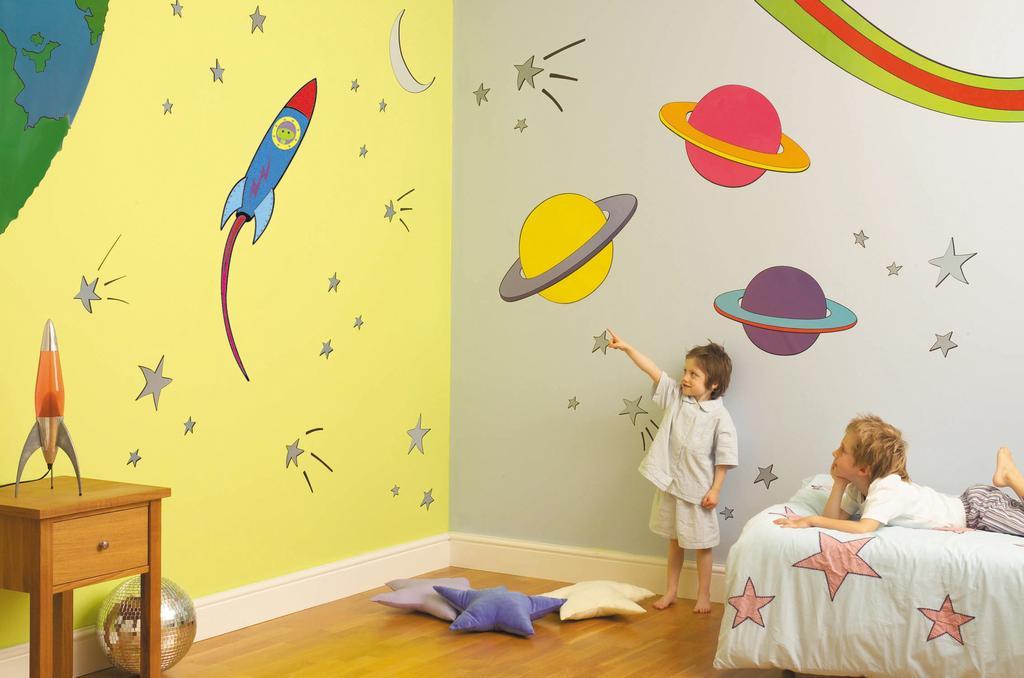 بالصور دهانات غرف اطفال , اجمل الوان دهان لغرف الاطفال 3539 4