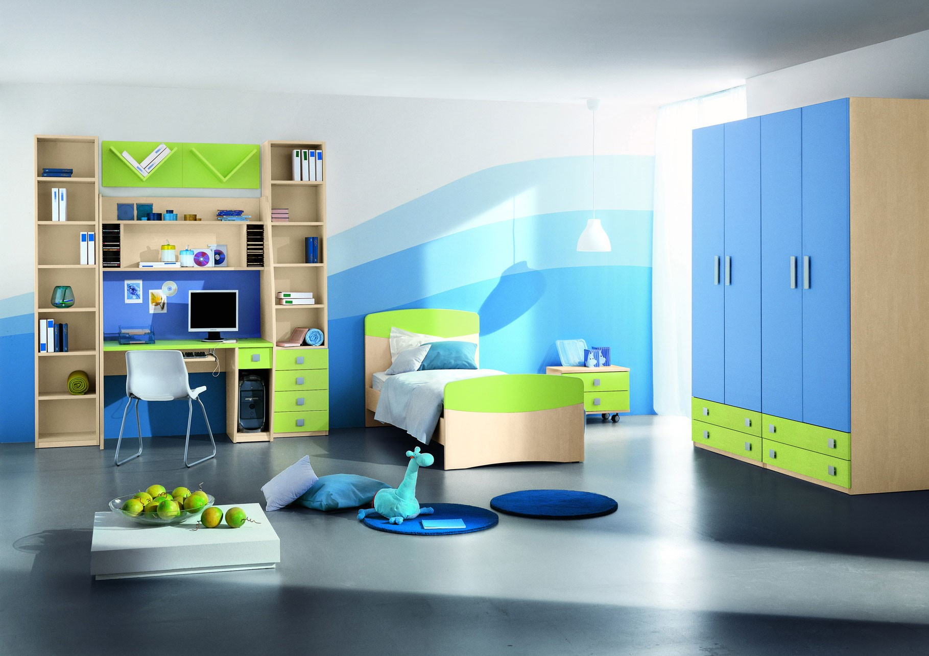 بالصور دهانات غرف اطفال , اجمل الوان دهان لغرف الاطفال 3539 5