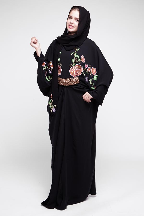 بالصور عبايات سعودية , اروع انواع العبايات السعودي 3545 3