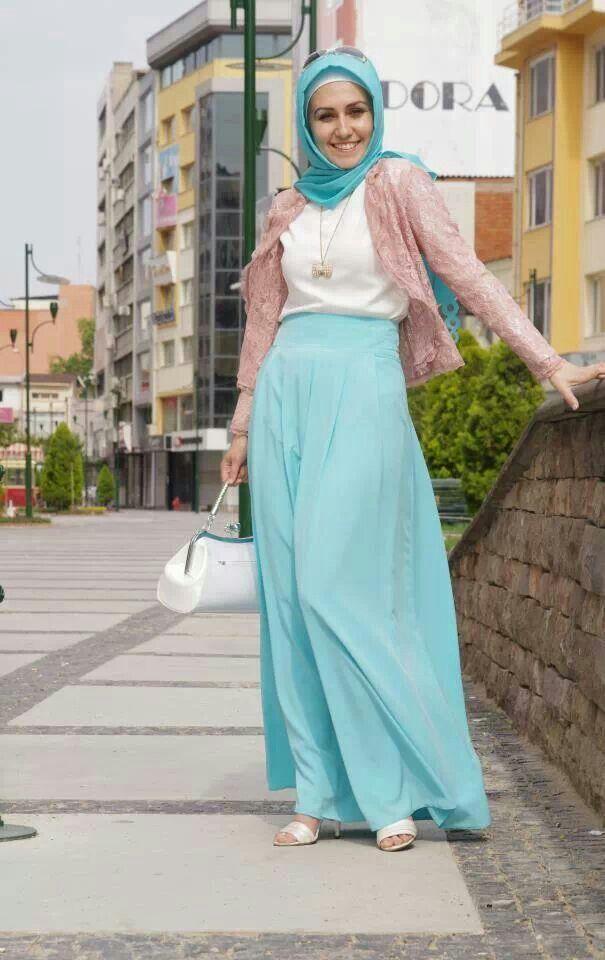 بالصور صور فساتين للمحجبات , اجمل صور الفساتين للمحجبات 3676 10