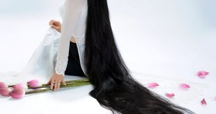 صور خلطات تطويل الشعر , كيفية الحصول على شعر طويل وقوى