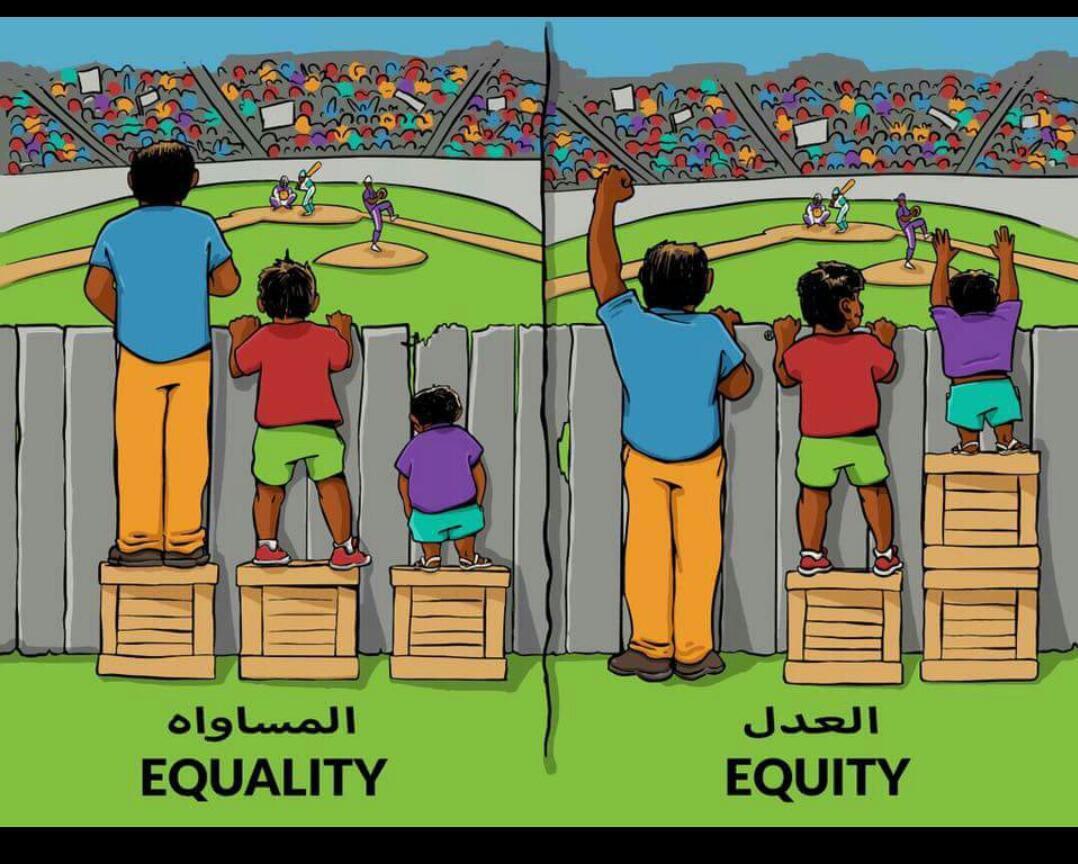 بالصور الفرق بين العدل والمساواة , فيديو يوضح الاختلاف بين العدل والمساواة 4763