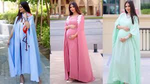 بالصور فساتين سهرة للحوامل , صور فستان سهرة للحامل 4764 2