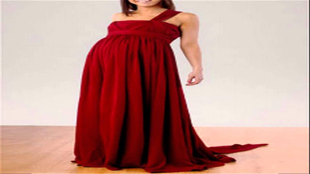 بالصور فساتين سهرة للحوامل , صور فستان سهرة للحامل 4764