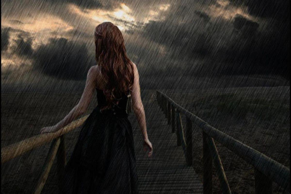 صوره صور رومانسيه حزينه , اصعب الرومنسية الحزينه فى صور