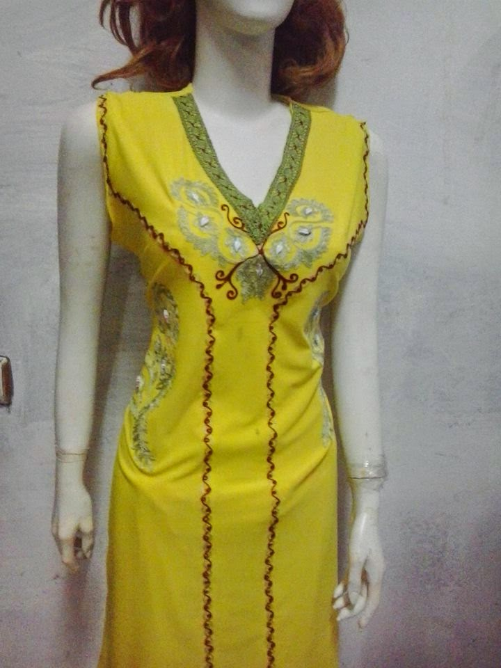 بالصور قنادر تاع الدار اخر صيحة , الملابس المغربيه للنساء واجددها 3584 10
