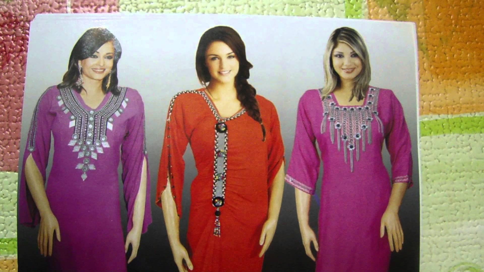 بالصور قنادر تاع الدار اخر صيحة , الملابس المغربيه للنساء واجددها 3584 9