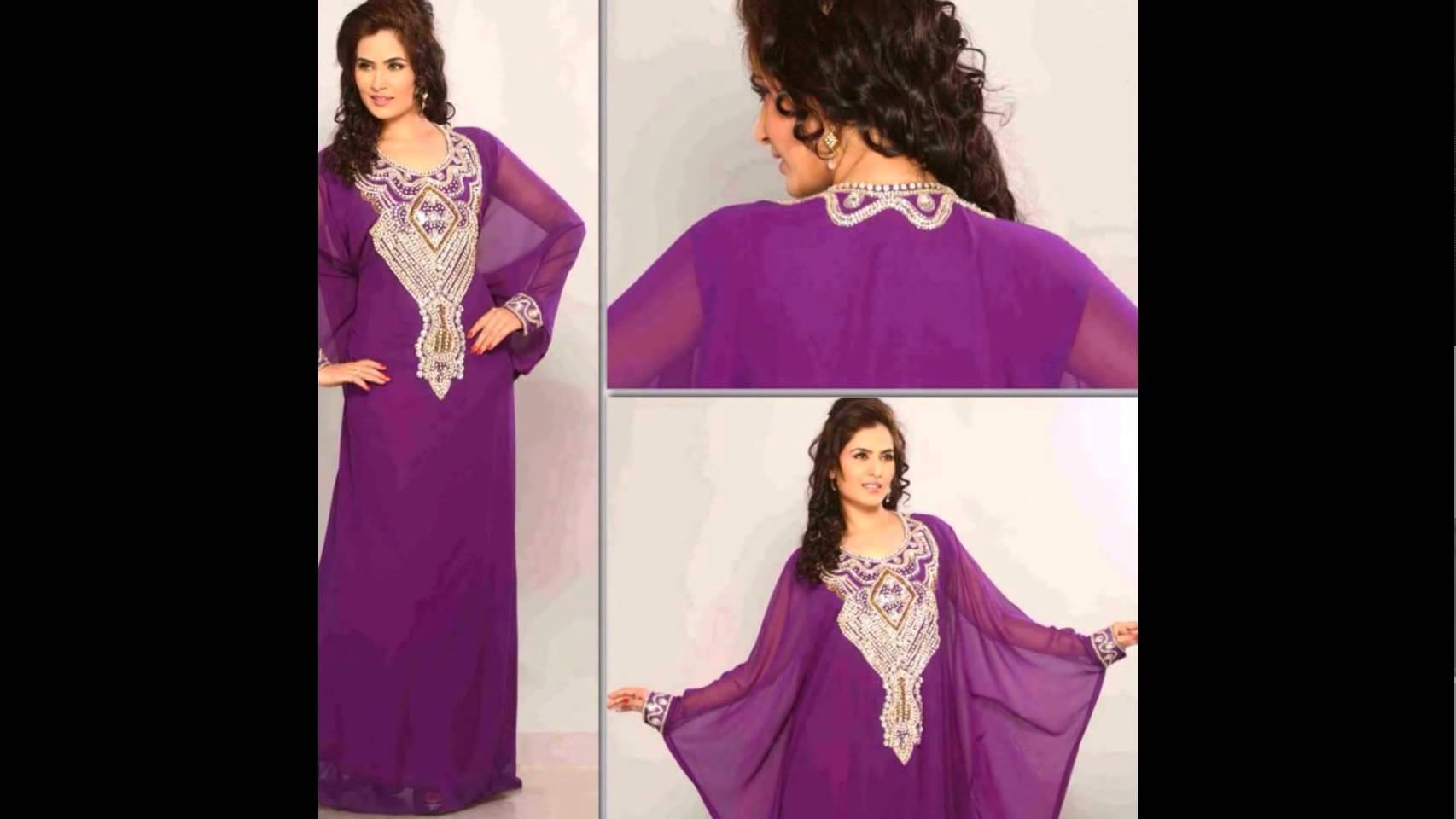 صوره قنادر تاع الدار اخر صيحة , الملابس المغربيه للنساء واجددها