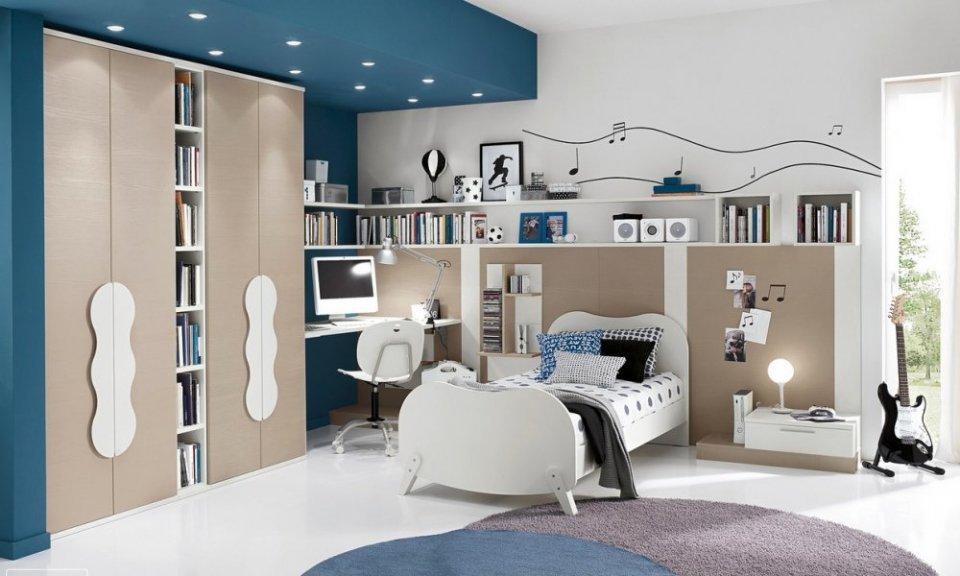 بالصور غرف شباب , اجمل الغرف للشباب والتجديد والافراد فى الديكورات 3647 13