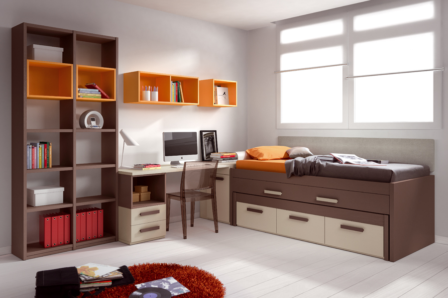 صور غرف شباب , اجمل الغرف للشباب والتجديد والافراد فى الديكورات