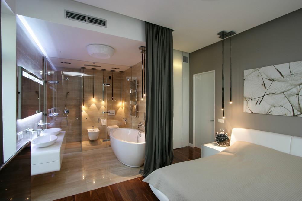 بالصور حمامات داخل غرف النوم , ديكور لغرف النوم ووجود حمام داخل الغرفه 3653 8