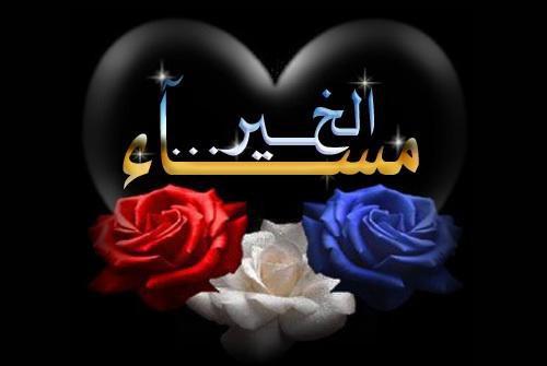 بالصور مساء الخير كلمات , عباراة مساء الخير 3809 5