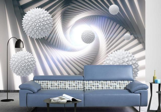 بالصور ورق جدران ثلاثي الابعاد , اجمل ديكورات حوائط بورق حدران ثلاثي الابعاد 3829 10