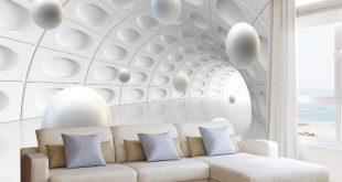 صور ورق جدران ثلاثي الابعاد , اجمل ديكورات حوائط بورق حدران ثلاثي الابعاد