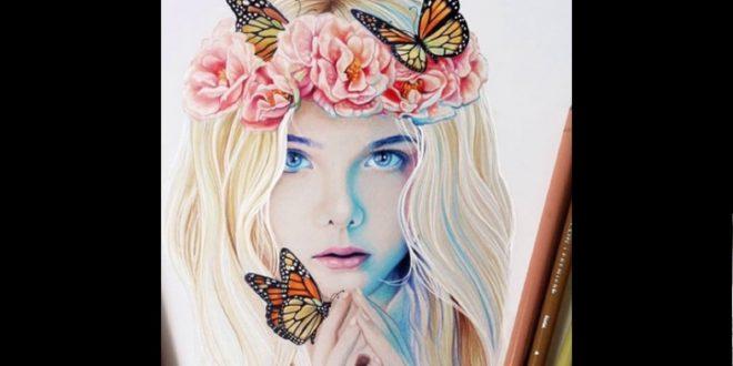 صور رسومات بنات جميلة , رسومات للبنات جميلة و روعة