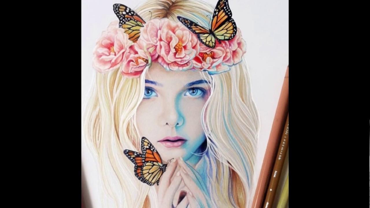 بالصور رسومات بنات جميلة , رسومات للبنات جميلة و روعة 3844