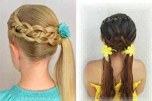 بالصور تسريحات شعر بسيطة , سرحي شعرك تسريحات بسيطة و رقيقة 3855 13